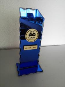 Primo posto Robot Game Coppa Jura (2018)