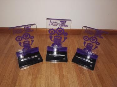 Primo posto Robot Design, Primo posto Robot Game e Primo posto in classifica generale alle regionali ticinesi di Bellinzona (2018/19)