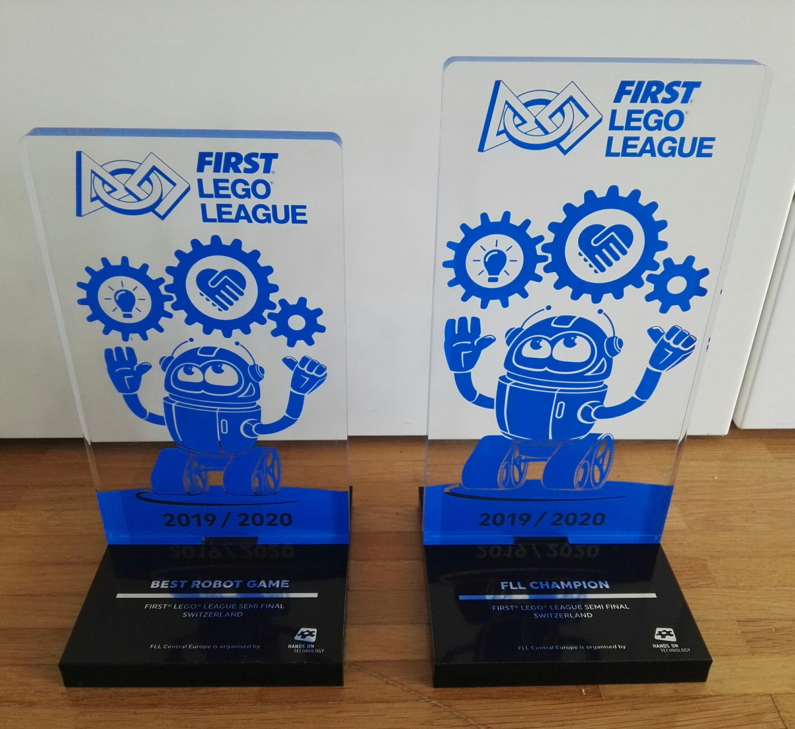 Gli Smilebots lo scorso febbraio 2020 si sono laureati 'Campioni Svizzeri'